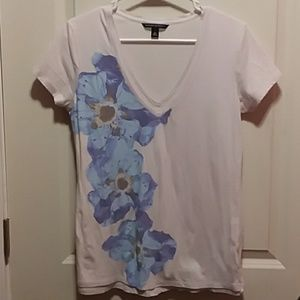 Banana Republic Faux Layered Floral T-Shirt